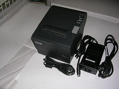Epson TM-T88IV  USB POS Thermal Receipt Printer -  with Free USB Cable