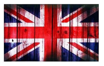Britannia Retro Union Jack Flag Tea Towel Souvenir Gift UK GB England Elgate New