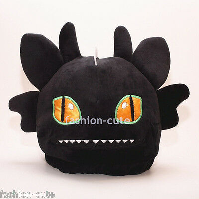 New How to Train Your Dragon Plush Hat Cap Beanie Costume Night Fury Toothless