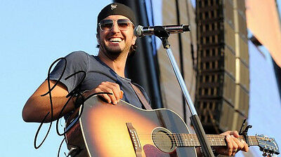 LUKE BRYAN 8 X 10 RP PHOTO AUTOGRAPHED COUNTRY SINGER