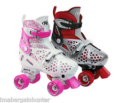 Roller Derby Trac Star Girls, Boys, Kids Adjustable Roller Skates