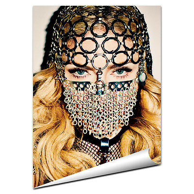 Madonna Poster NEW 2015 MDNA Girl Gone Wild Give Me All Your Luvin Give It to Me