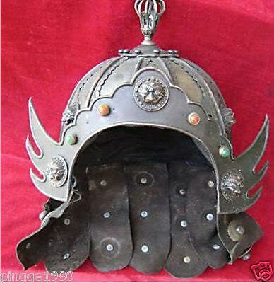 Rare Chinese Song Dy Bronze warrior's Helmet
