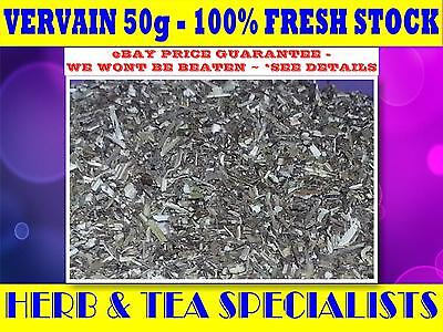 VERVAIN 50g TEA☆100% Verbena officinalis☆HERBAL☆☆HERB☆☆ PREMIUM STOCK