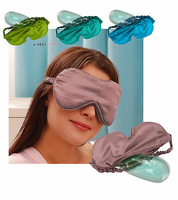 Aroma Home Satin Eye Mask With Cooling Gel Insert: Eye Strain, Headaches, Sleep