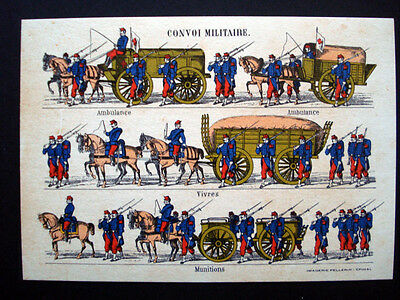 Vintage French Imagerie Pellerin d'Epinal Assorted Military Postcards InvD