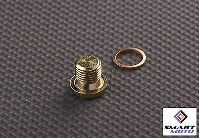 M12 x 1.25mm Oxygen o2 Lambda Sensor blanking Plug Cap Bang motorcycles and cars