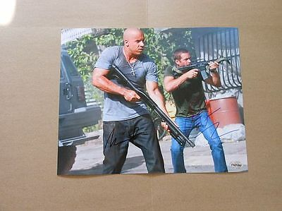 Paul Walker Vin Diesel Fast Five SIGNED AUTOGRAPHED 8X10 PHOTO