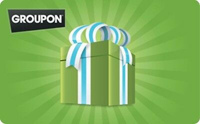 Groupon Gift Card - $25 $50 $100 - Email delivery