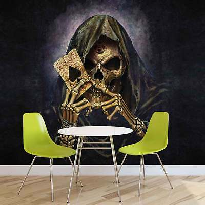 WALL MURAL PHOTO WALLPAPER PICTURE (979PP) Skull Heavy Metal Abstract