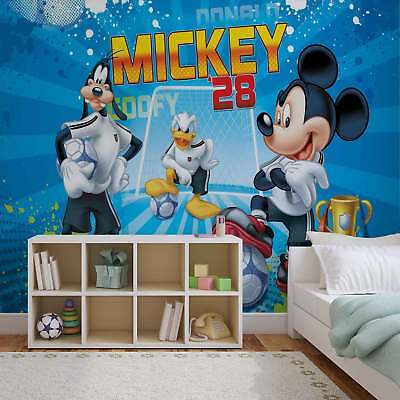 WALL MURAL PHOTO WALLPAPER PICTURE (952P) Mickey Mouse Boys Girls Bedroom