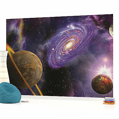 WALL MURAL PHOTO WALLPAPER PICTURE (309PP) Space Galaxy Planets