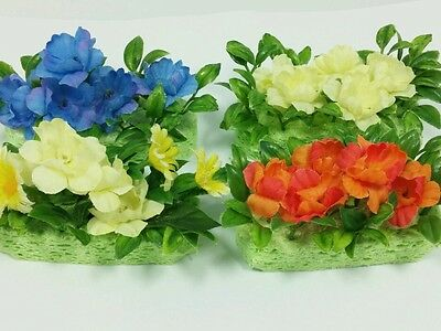 Miniature doll/dollhouse Flower bed Flower Garden Calico Critters Sylvania 1 pcs