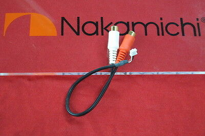 Nakamichi pre-out and AUX in . original. NEW!