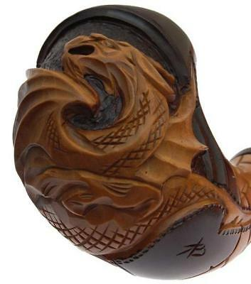 * Big DRAGON * New Hand Carved Tobacco Smoking Pipe / Pipes Pipa for 9 mm filter