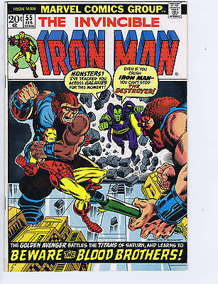 Iron Man #55 Marvel 1973
