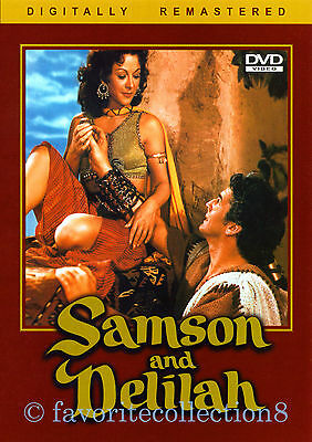 Samson and Delilah (1949) - Hedy Lamarr, Victor Mature - DVD