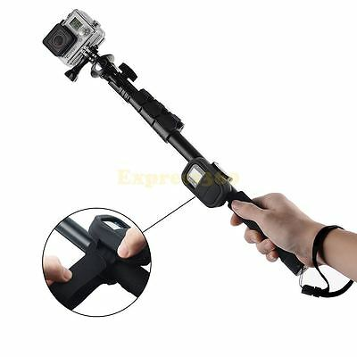 SELFIE Extendable Monopod Pole Stick+Wifi Remote Case for GoPro Hero 1 2 3 3+ 4