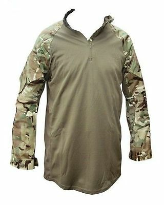 British Army Mtp Under Body Armour Combat Shirt- Ubacs - Used - Various Sizes