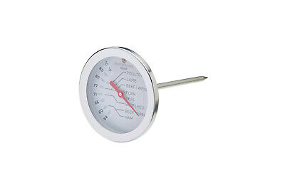 Kitchen Craft Master Class Stainless Steel Meat BBQ Probe Thermometer MCMEATSS
