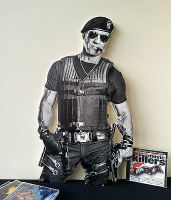 Sylvester Stallone Display STANDEE NEW Expendables 3 Rocky Rambo Cobra