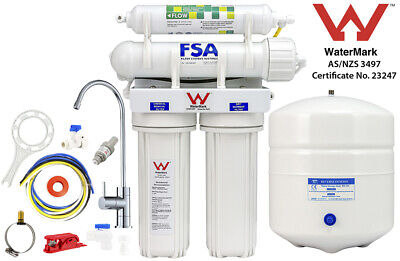 Reverse Osmosis Water Filter System 4 Stage Undersink Removes Fluoride (1-26S)