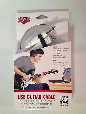 First Act USB Guitar Cable plus Cakewalk Software