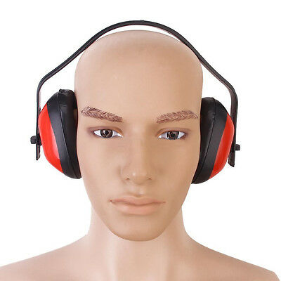 Red Foam Adjustable Ear Muff Anti Noise Hearing Protector