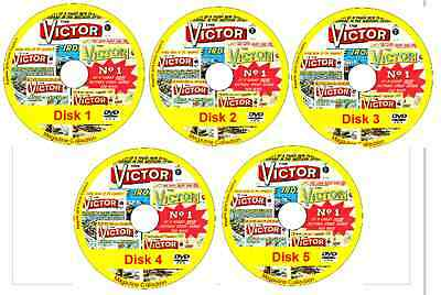 Victor Comics 918 issues & specials on 5 DVDs (offers available - see listing)