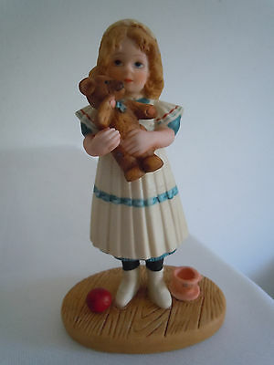 Vintage Jan Hagara Figurine Anne #6896 Limited Edition Signed  Free Shipping