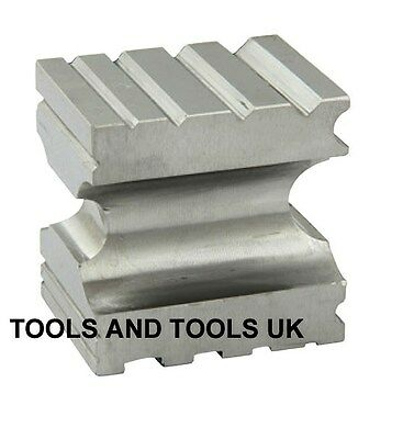Hardened Solid Steel Grooved Multi Forming Swage Block Dapping Silver smith Tool