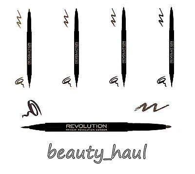 MAKEUP REVOLUTION *Ultra Brow Arch & Shape* Eyebrow Tint & Shaping Pencil Dual!
