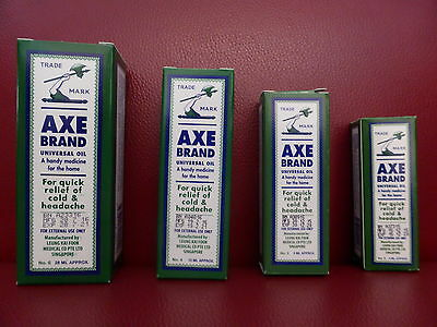 Singapore AXE Brand Universal Oil Cold Headache Stomachache Insect Bites