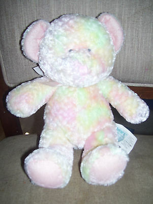 "Russ Baby ""Boobears"" Multi Colored Teddy Bear #22312, 8 inches sitting, EUC!!!"