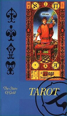 The Stairs of Gold TAROT H-Quality Cards Deck Ступени Золотого Таро Tavaglione