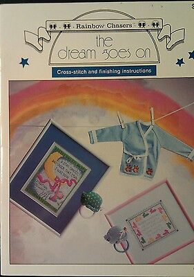 The Dream Goes On Cross Stitch Pattern Booklet - Rainbow Chasers
