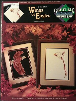 On the Wings of Eagles Cross Stitch Pattern Booklet