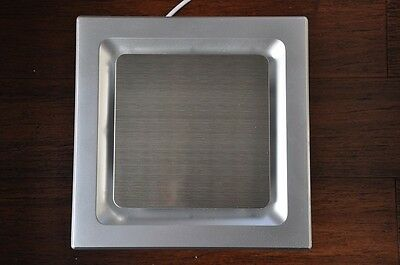 Stainless steel grid SILENT SERIES Bathroom Exhaust Fan, 85 CFM, Exhaust fan