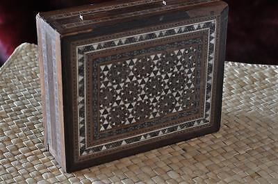 Old Inlaid Persian Style Box… with Beautiful Inlaid...