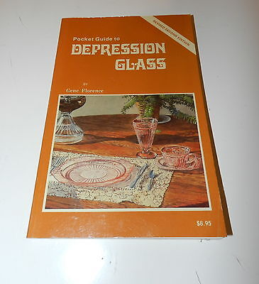 Pocket Guide To Depression Glass By Gene Florence 2nd ED.