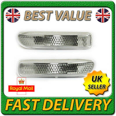 Set Pair Left Right Side Repeaters Indicators Lamps for BMW 3 Series E46