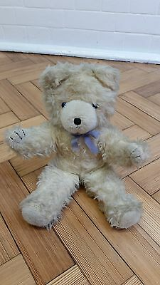 VERY RARE VINTAGE 1960's WENDY BOSTON COLLECTIBLE TEDDY BEAR WITH BLUE EYES