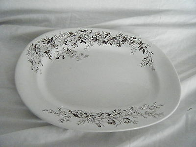 C4 Pottery Booth Jasmine Serving Plate 34x28cm 3C7A