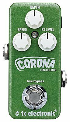 TC Electronic*CORONA MINI*Chorus Guitar Effects Pedal FREE 2D SHIP NEW