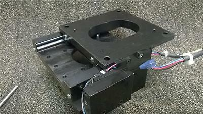 Melles Griot Precision Linear Motion Single Axis Stage Actuator W/ Sensors