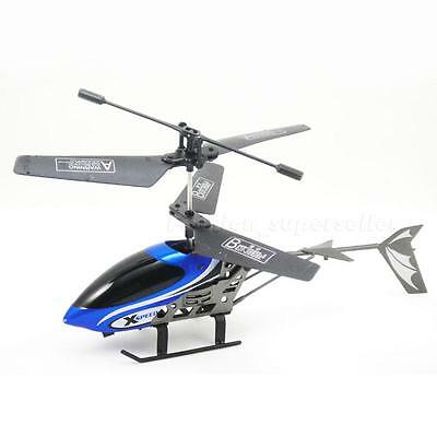 Mini 2.5CH Remote Control Airplane RC Helicopter Easy Fly LED Shatterproof JHXP