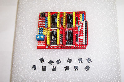 Assembled Cnc Shield Expansion Brd.v3 For A4988/drv8825 Drivers For Arduino