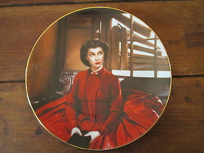 BEAUTIFUL--GONE WITH THE WIND--CRITIC'S CHOICE CHINA PLATE-SCARLETT GETS HER WAY