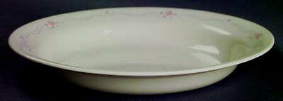 LQQK - Corelle  ENGLISH BREAKFAST  Pasta Rimmed Soup Bowl Bowls VERY GOOD COND
