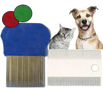 Pet Dog Cat Puppy Kitten Flea Comb Brush Grooming Set Hair Fur Care Tail Paws